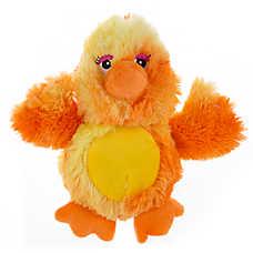 Top Paw™ Swirl Chick Dog Toy - Squeaker, Plush