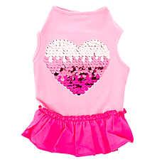 Top Paw™ Sequin Heart Dress