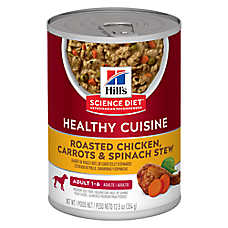 Hill's® Science Diet® Healthy Cuisine Adult Dog Food - Roasted Chicken, Carrots & Spinach