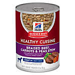Hill's® Science Diet® Healthy Cuisine Mature Adult Dog Food - Braised Beef, Carrots & Peas
