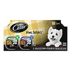 Cesar® Home Delights™ Adult Dog Food - Turkey & Pot Roast, Variety Pack, 12ct