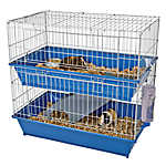 All Living Things® Duel Level Ramp Habitat Small Pet