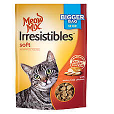 Meow Mix® Irresistibles Soft Cat Treat - Chicken