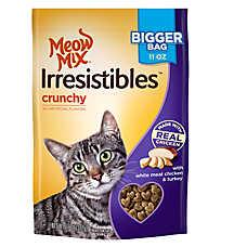 Meow Mix® Irresistibles Crunchy Cat Treat - Chicken & Turkey