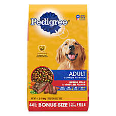 PEDIGREE® Steak & Vegetable Adult Dog Food