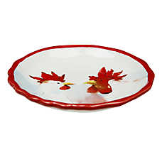 Whisker City® Rooster Cat Saucer