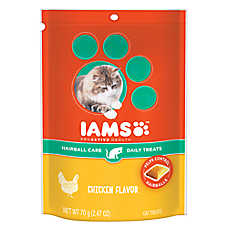 Iams® ProActive Health™ Hairball Care Cat Treat - Chicken