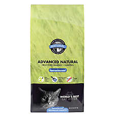 World's Best Advanced Natural Cat Litter - Natural, Clumping, Fresh Natural Scent, Multiple Cat