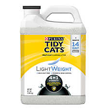 Purina® TIDY CATS® LightWeight 4-in-1 Strength Cat Litter - Clumping, Mulit Cat