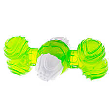 Top Paw® Whirl Cross Dog Toy (COLOR VARIES)
