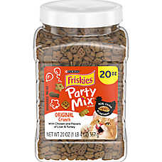 Purina® Friskies® Party Mix Crunch Cat Treat - Original