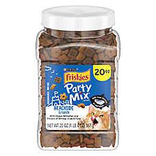 Purina® Friskies® Party Mix Crunch Cat Treat - Beachside