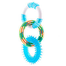 Top Paw® Rope Ring Dog Toy (COLOR VARIES)