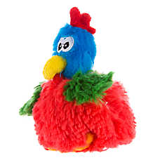 Top Paw® Rooster Plush Dog Toy
