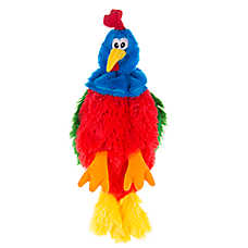 Top Paw® Flattie Rooster Dog Toy