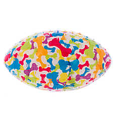 "Toys ""R"" Us® Bone Football Dog Toy"