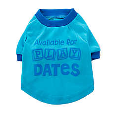 "Top Paw™ ""Available For Play Dates"" Puppy Tee"