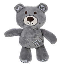 Top Paw™ Bear Patch Puppy Toy - Plush, Squeaker