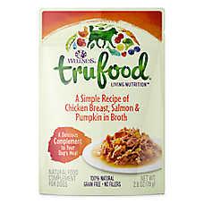 Wellness® TruFood® Compliments Dog Food - Natural, Grain Free, Chicken, Salmon & Pumpkin