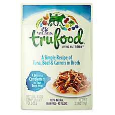 Wellness® TruFood® Dog Food Topper - Natural, Grain Free, Tuna, Beef & Carrots