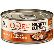 Wellness® CORE® Hearty Cuts Adult Cat Food - Grain Free, Chicken & Turkey