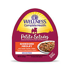 Wellness® Petite Entrees Small Dog Food - Grain Free, Chicken, Turkey, Carrots & Green Beans
