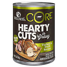 Wellness® CORE® Hearty Cuts Dog Food - Natural, Grain Free, Turkey & Duck