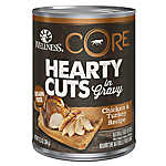 Wellness® CORE® Hearty Cuts Dog Food - Grain Free, Natural, Chicken & Turkey