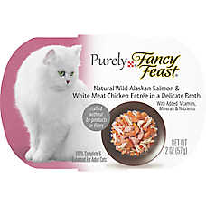 Purely Fancy Feast® Adult Cat Food - Wild Salmon & Chicken
