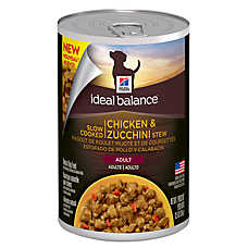 Hill's® Ideal Balance™ Slow Cooked Adult Dog Food - Chicken & Zucchini Stew