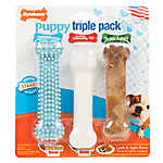 Nylabone® Triple Pack Bone Puppy Toy