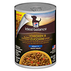 Hill's® Ideal Balance™ Mature Adult Dog Food - Chicken & Zucchini Stew
