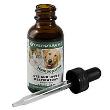 Only Natural Pet® Eye & Upper Respiratory Homeopathic Remedy
