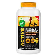GNC Pets® Ultra Mega Active Energy & Metabolism Premium Chewable Tablet