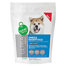 GNC Pets Ultra Mega Omega Essentials Soft Dog Chewable Tablet