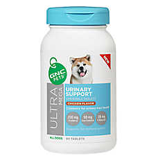GNC Pets® Ultra Mega Urinary Support Chewable Dog Tablets - Chicken