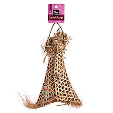 All Living Things® Natural Treasure Bag Bird Toy