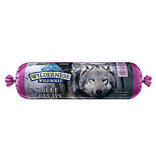 BLUE Wilderness® Wild Rolls Dog Food - Grain Free, Beef