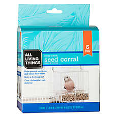 All Living Things® Small Seed Corral Bird Feeder