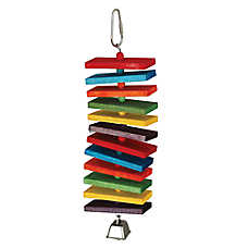 All Living Things® Multi-Colored Spiral Bird Toy