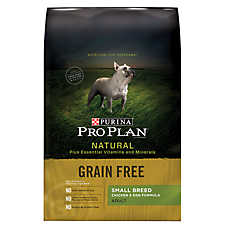 Purina® Pro Plan® Natural Small Breed Adult Dog Food - Grain Free, Natural, Chicken & Egg