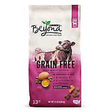 Purina® Beyond Natural Dog Food - Grain Free, Gluten Free, Beef & Egg