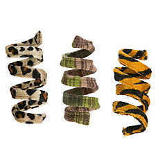 National Geographic™3 Pack Safari Spring Cat Toys