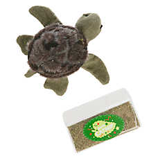 National Geographic™Turtle with Catnip Refill Cat Toy