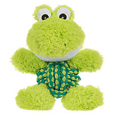 KONG® Weave Knots Frog Dog Toy