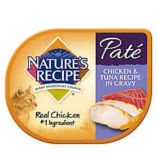 Nature's Recipe® Pate Cat Food - Chicken & Tuna