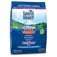 Natural Balance Original Ultra Whole Body Health Large Breed Dog Food - Chicken, Brown Rice & Duck