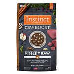 Nature's Variety® Instinct® Raw Boost Dog Food - Natural, Grain Free, Freeze Dried Raw