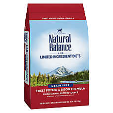 Natural Balance Limited Ingredient Diets Dog Food - Grain Free, Sweet Potato & Bison