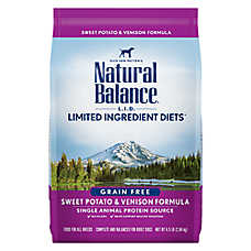 Natural Balance Limited Ingredient Diets Dog Food - Grain Free, Sweet Potato & Venison
